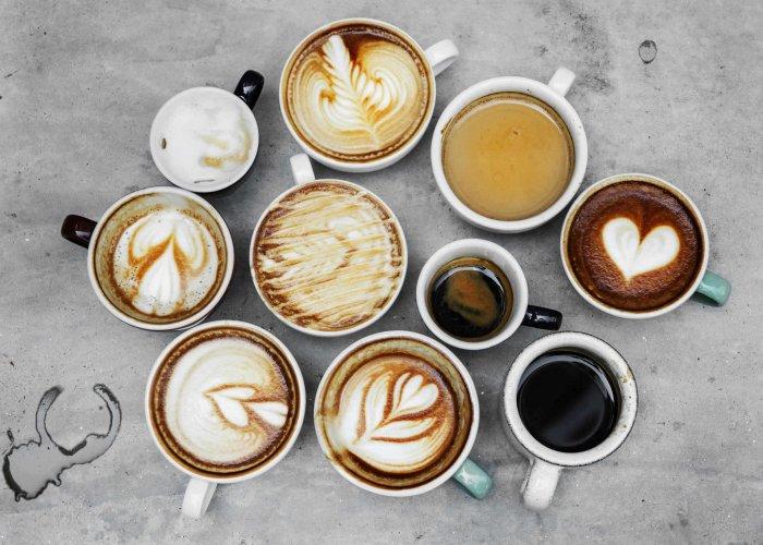 Kawa, cappuccino i latte macchiato z produktów Brasilmoka