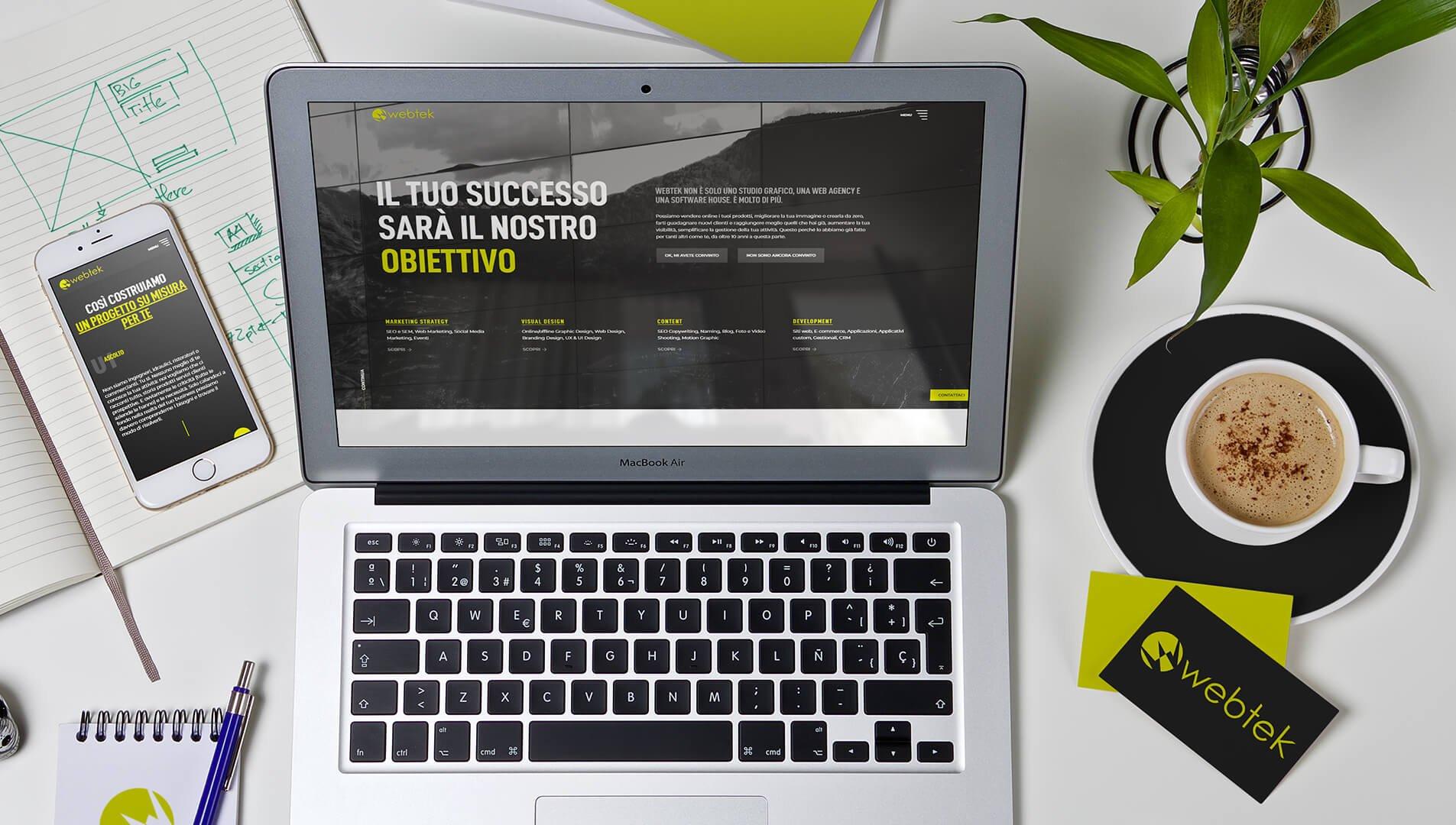 Projekt strony internetowej Brasilmoka i usługi SEO świadczone przez Webtek.